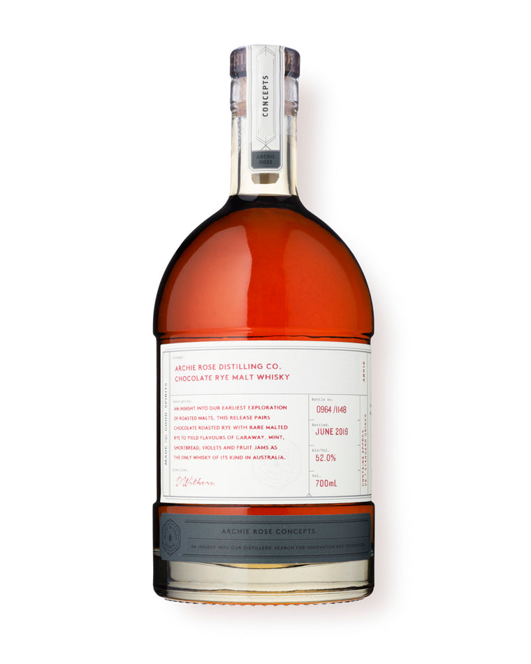 Archie Rose Chocolate Rye Malt Whisky 700mL