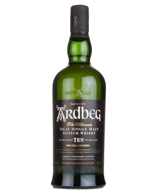 Ardbeg 10 Year Old Scotch Whisky 700mL