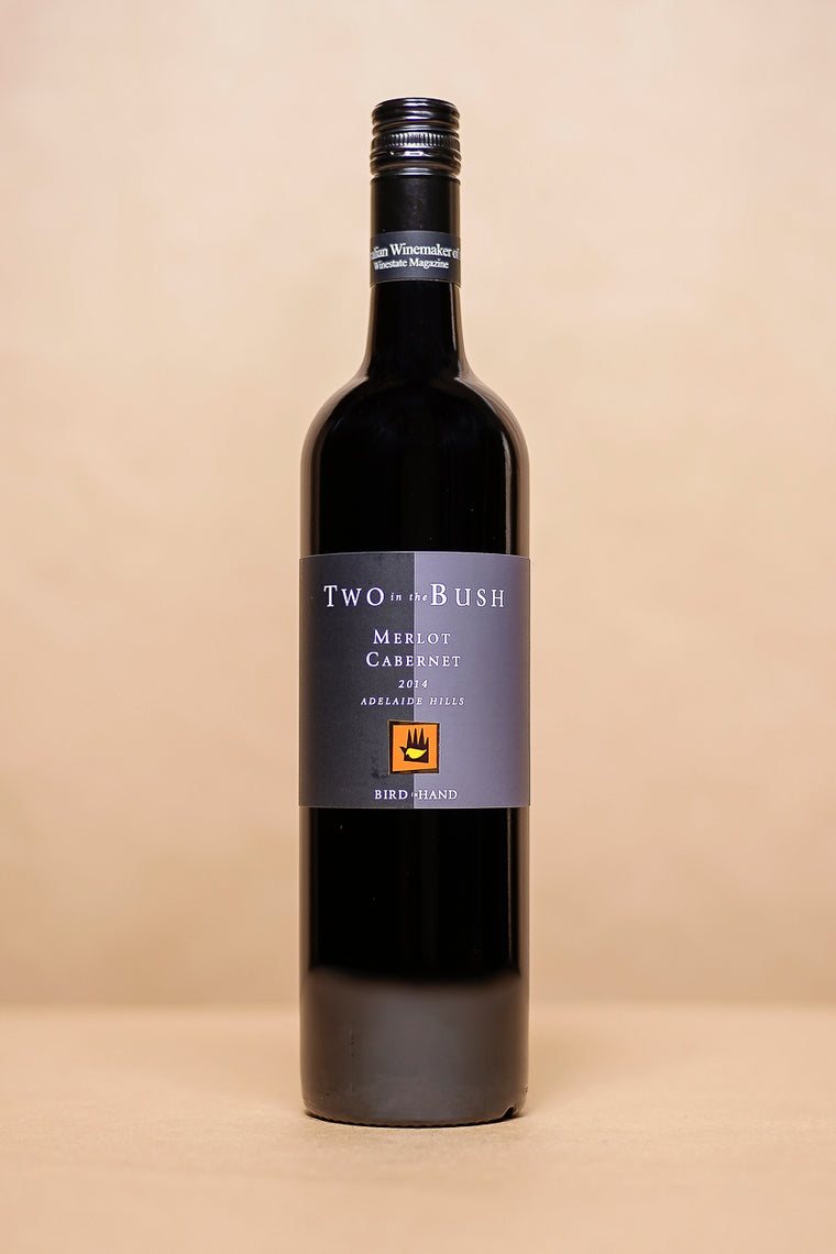 Bird in Hand Two in the Bush Merlot Cabernet 2014 750mL