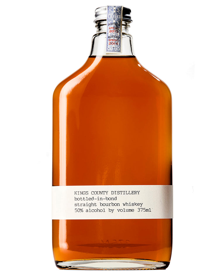 Kings County Distillery Bottled-In-Bond Straight Bourbon Whiskey 375mL