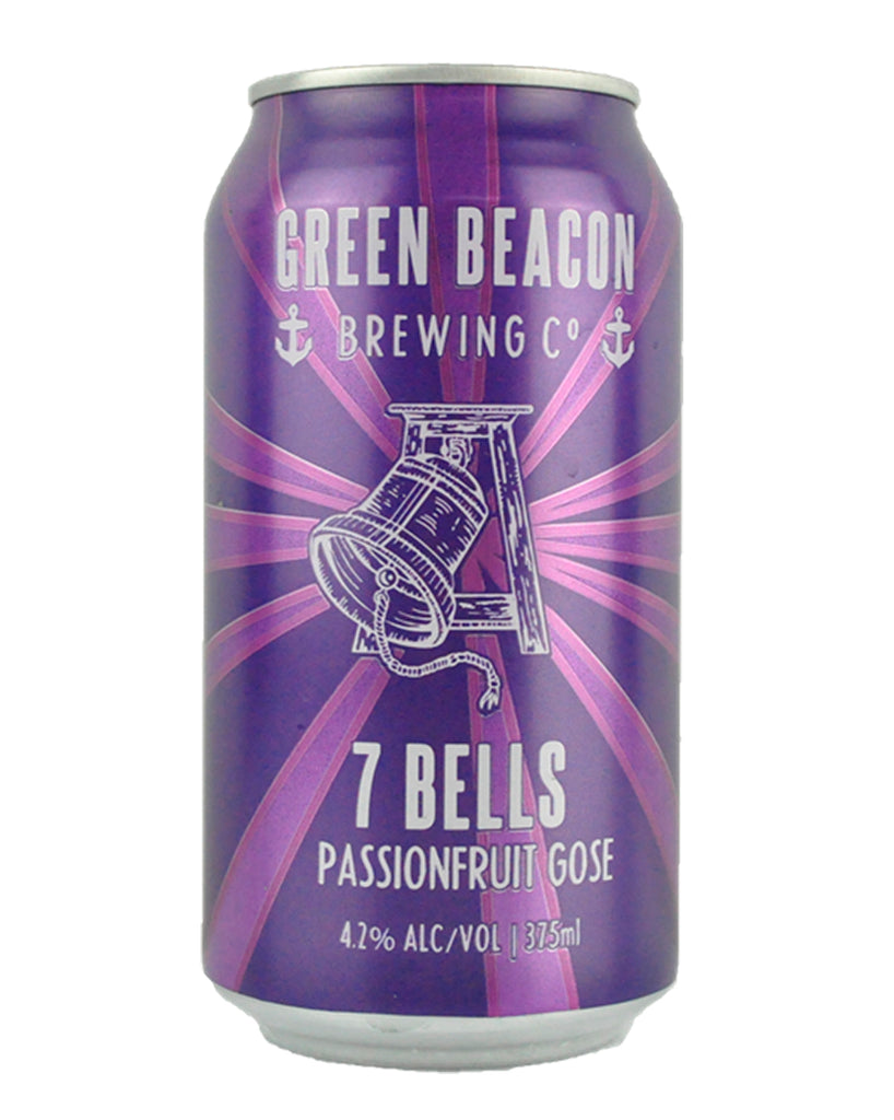 Green Beacon '7 Bells' Passionfruit Gose 375mL