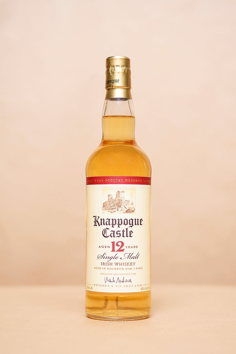 Knappogue Castle Whiskey Aged 12 Years 700mL