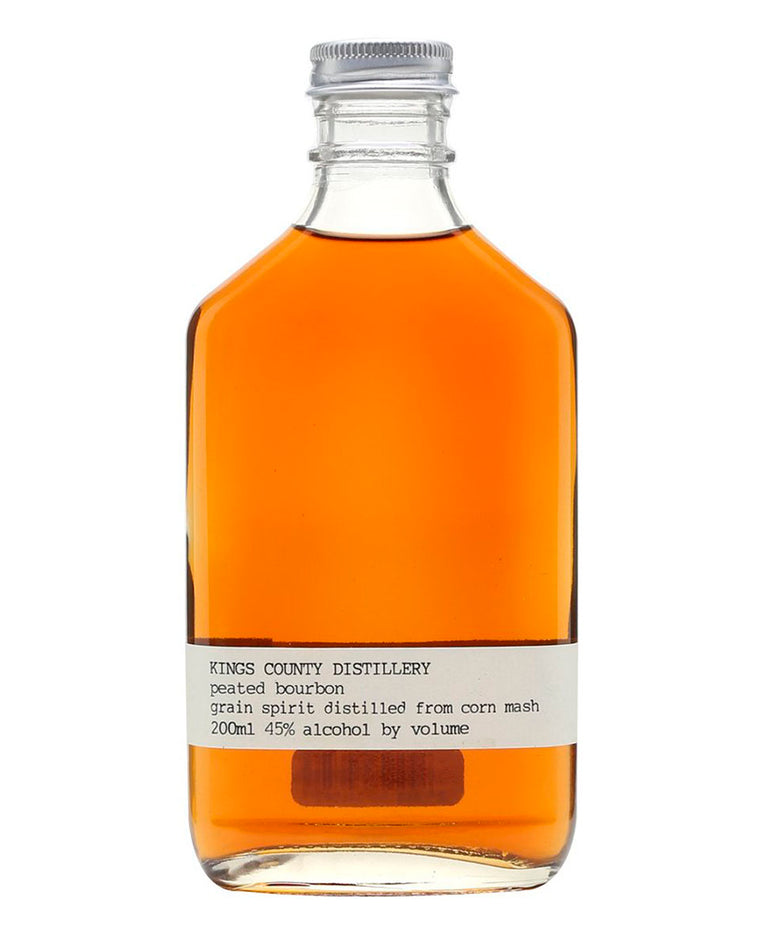 Kings County Distillery Peated Bourbon Whiskey 375mL