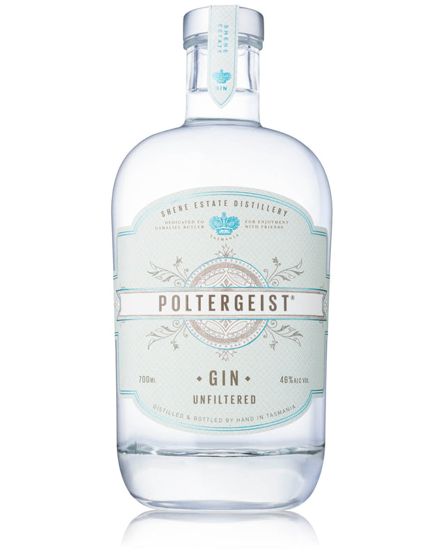 Shene Estate Distillery 'Poltergeist' Unfiltered Gin 700mL
