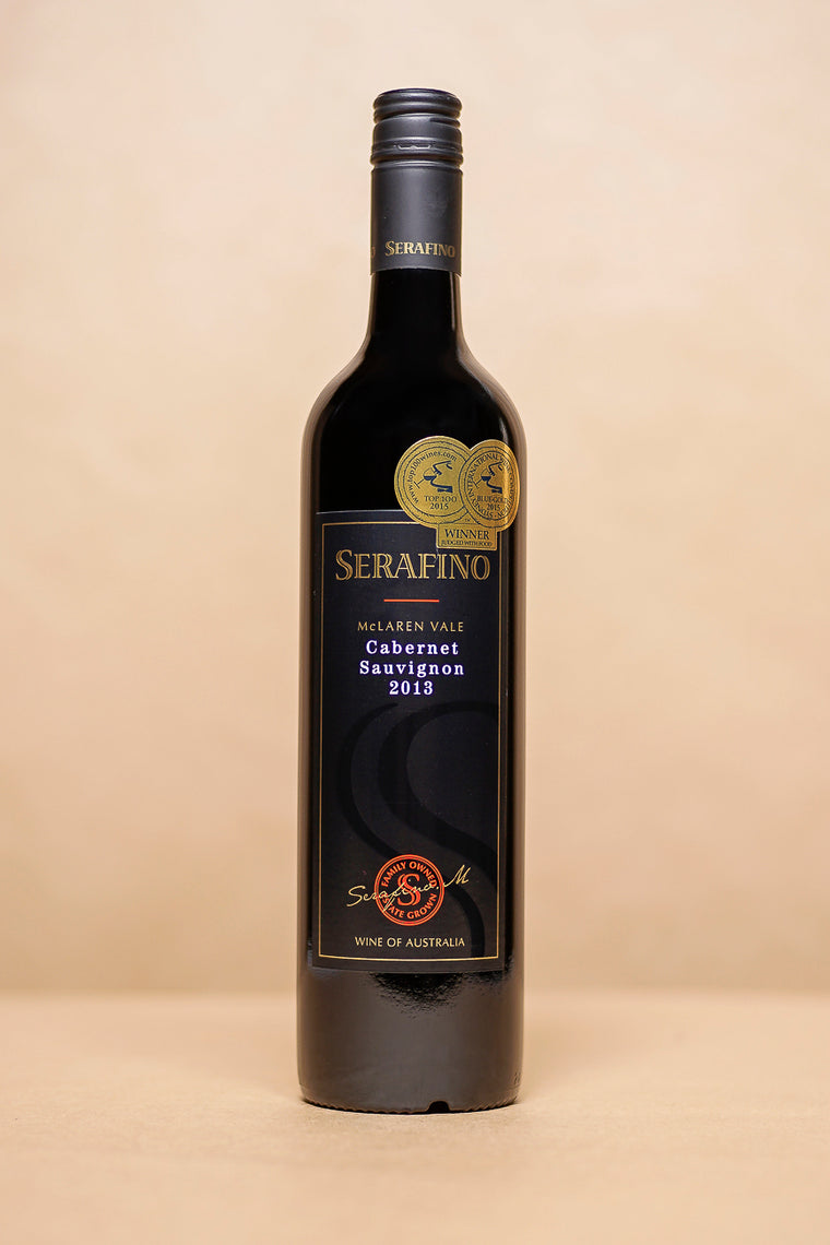 Serafino Black Label Cabernet Sauvignon 750mL