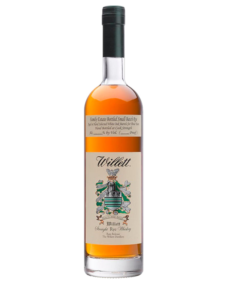 Willett Family Estate Small Batch Rye 750mL - 4YO 55.8% ABV