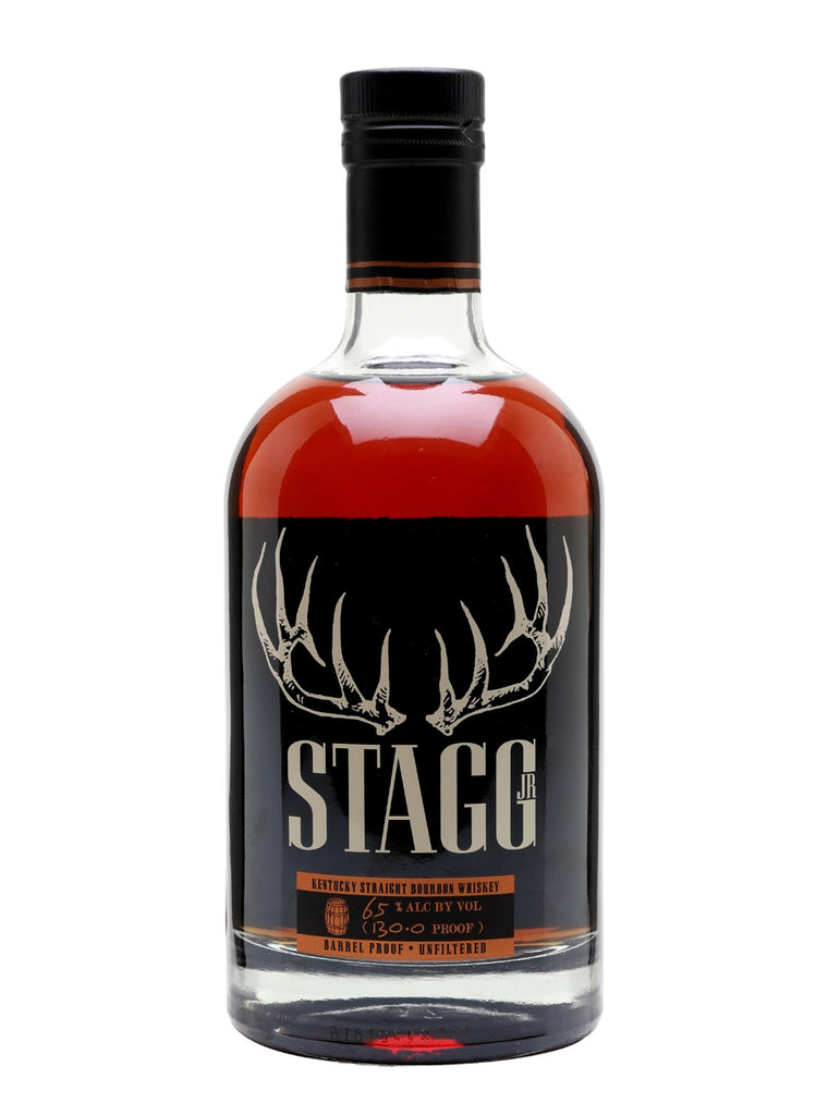 Stagg Jr. Bourbon Whiskey 128.7 Proof (64.35% ABV) 750mL