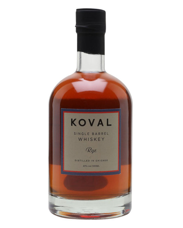 Koval Single Barrel Rye Whiskey 500mL