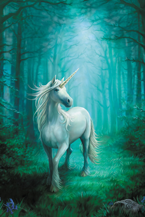 Forest Unicorn Greeting Card