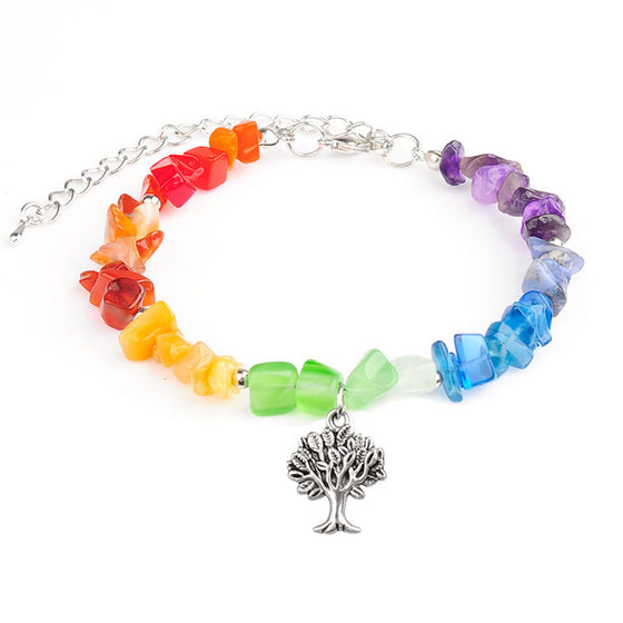 TREE OF LIFE RAINBOW CHAKRA BRACELET