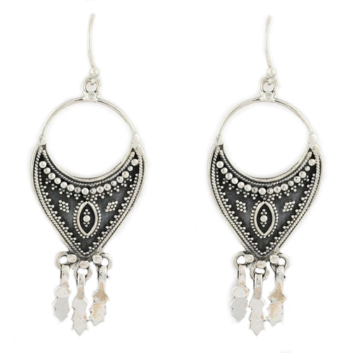 The Craft Ariadne Drop Earrings -Sterling Silver