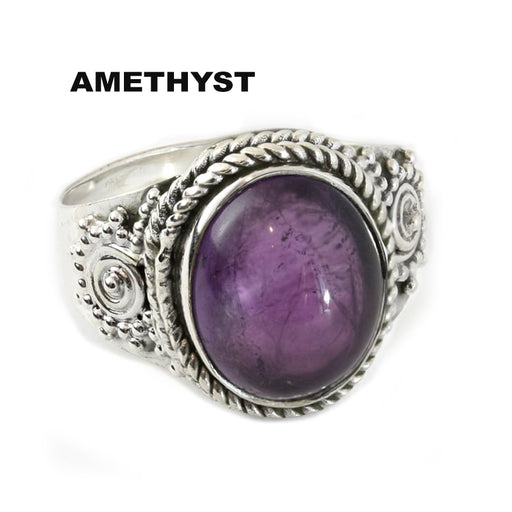 The Craft Scrying Ring - Sterling Silver