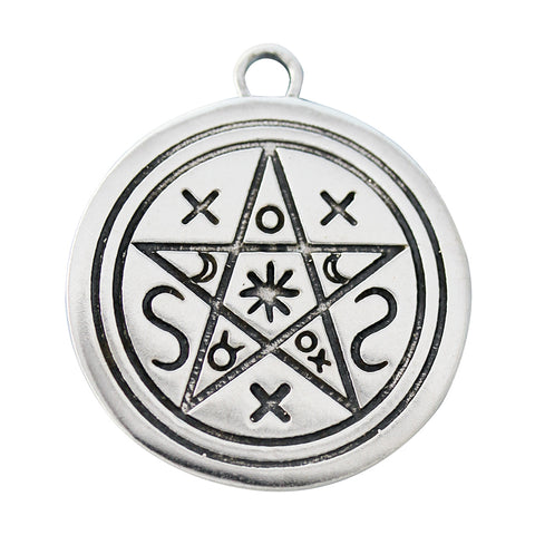 The Craft Pentacle of the Shadows Pendant