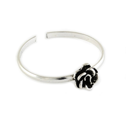 The Craft Protection Rose Midi Ring - Sterling Silver
