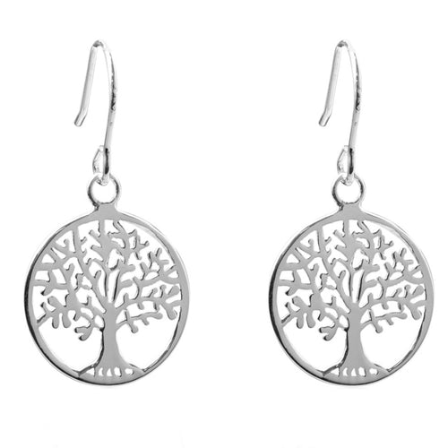 The Craft Tree of Life Earrings - Sterling Silver