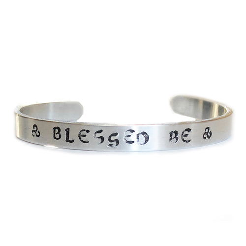 BLESSED BE SKINNY CUFF BANGLE