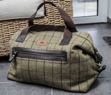 Tweed Weekender Bag Bag - Crufts and Kennel Club Gifts