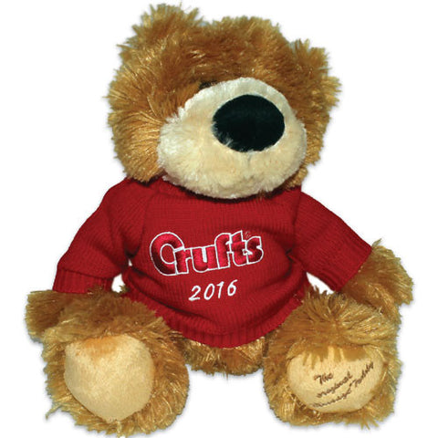 Limited Edition Commemorative Crufts 2016 Teddy - Crufts and Kennel Club Gifts