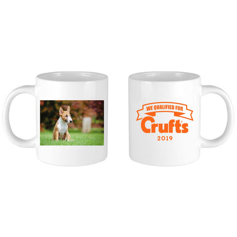 2019 We Qualified For Crufts Personalised Mug