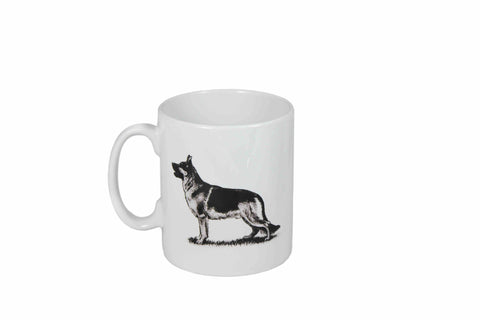 German Shepard Dog Mug - Crufts and Kennel Club Gifts