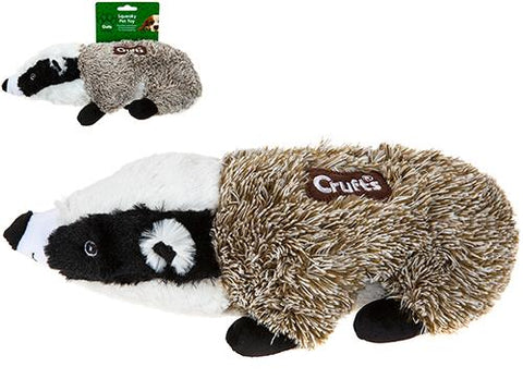 Crufts Squeaky Badger Toy