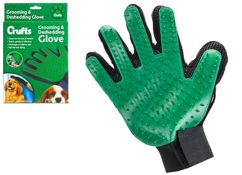 Crufts Grooming & Deshedding Glove