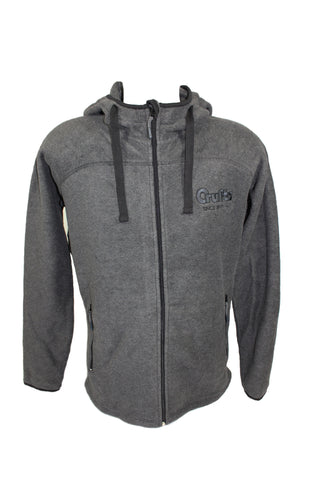 Crufts Unisex Grey Active Fleece