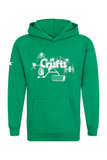 Kids Crufts & YKC Agility Course Hoodie - Green