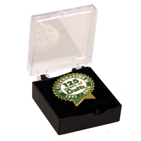 Crufts 125th Year Anniversary Pin Badge - Crufts and Kennel Club Gifts