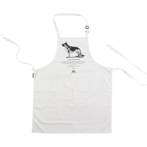 German Shepherd Dog Apron - Crufts and Kennel Club Gifts
