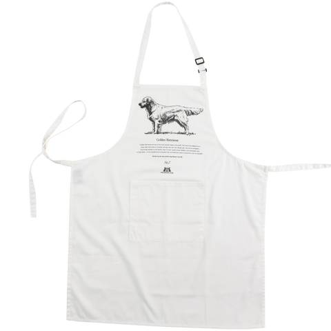Golden Retriever Apron - Crufts and Kennel Club Gifts