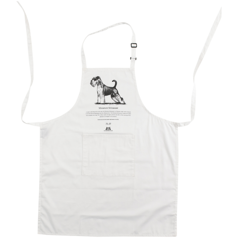 Miniature Schnauzer Apron - Crufts and Kennel Club Gifts