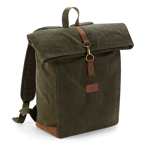 Kennel Club Heritage Canvas Backpack