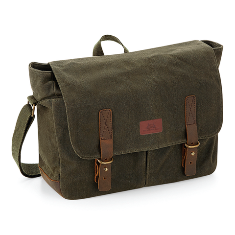 Kennel Club Heritage Canvas Messenger Bag