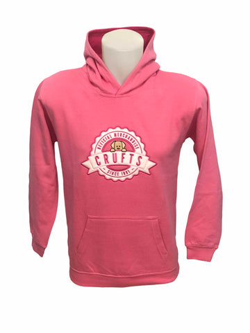 Crufts Bailey Hoodie - Candyfloss Pink