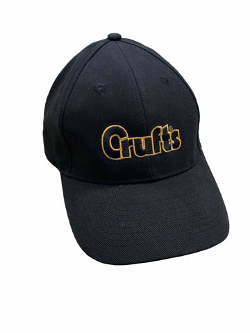 Crufts Baseball Cap - Black