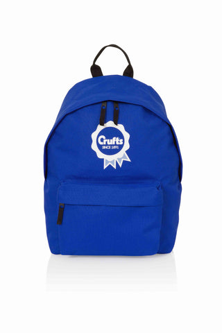 Crufts Rosette Blue Backpack