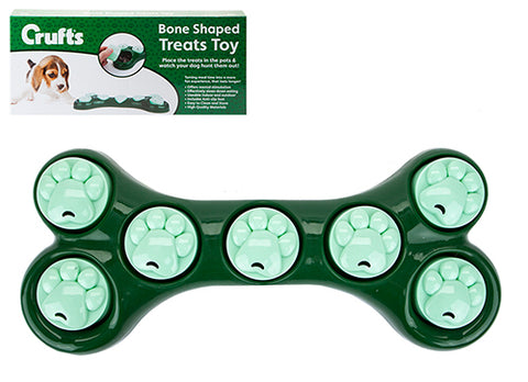 Crufts Bone Shaped Treats Toy