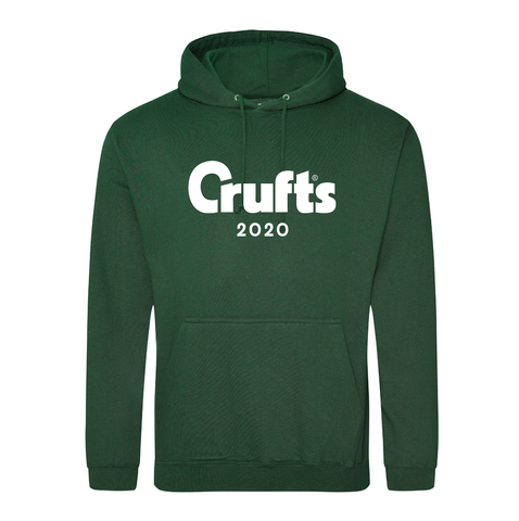 Crufts 2020 Hoodie - Bottle Green