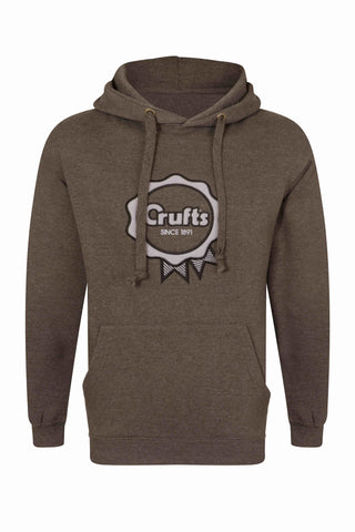 Crufts Rosette Hoodie - Charcoal Grey