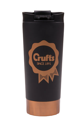 Crufts Rosette Travel Drinking Flask