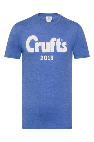 Crufts 2018 Royal Blue Unisex T-Shirt