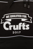 2017 We Qualified For Crufts Black Holdall