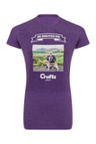 2017 We Qualified Ladies Fit Personalised T-Shirt