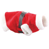 Personalised Dog Santa Suit