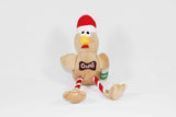 Squeaky Crufts Christmas Turkey Dog Toy