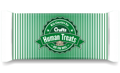 Human Treats Milk Chocolate Bar