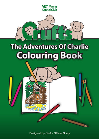 Crufts & YKC The Adventures of Charlie Colouring Book