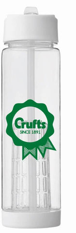 Crufts Infuser Water Bottle