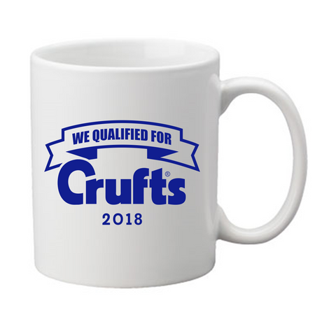 2018 We Qualified For Crufts Mug